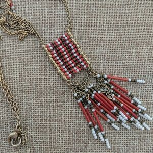 American Eagle Tassel Necklace
